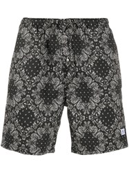 Department 5 All Over Print Shorts Black
