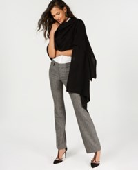 Charter Club Pure Cashmere Oversized Scarf Classic Black