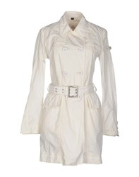 Peuterey Coats And Jackets Full Length Jackets Women Ivory