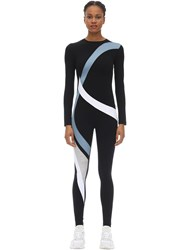 No Ka' Oi Game Stretch Techno Jumpsuit Black
