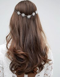 Asos Wedding Back Hair Crown Crystal Clear