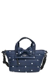 Kate Spade New York 'Colby Court Lydia' Shoulder Satchel Blue Rich Navy Ballerina Pink