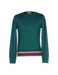 Carven Sweaters Emerald Green