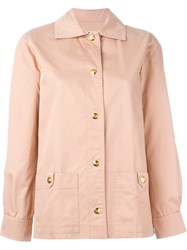 Celine Vintage Classic Collar Jacket Pink And Purple