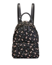 Givenchy Nano Smooth Leather Backpack Pink Hibiscus Multicolor