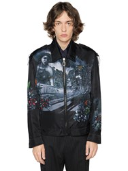 Lanvin Lonely Town Print Nylon Jacket