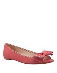 Delman Sami Open Toe Sandals Pink