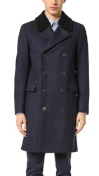 Theory Kenri Voedar Overcoat Eclipse