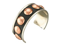 Gypsy Soule Mixed Metal Stud Cuff Bracelet Copper Bracelet Bronze