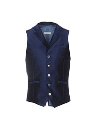John Sheep Vests Dark Blue