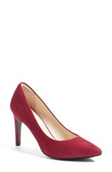 Cole Haan Women's 'Eliza Grand. Os' Pointy Toe Pump Cabernet Suede
