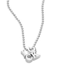 Alex Woo Luck Sterling Silver Pendant Necklace
