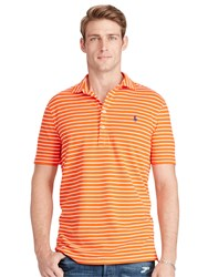 Polo Ralph Lauren Custom Fit Striped Shirt Active Orange