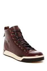 Diesel Tempus Diamond Mid Sneaker Brown