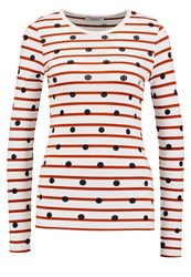 Pieces Pchia Long Sleeved Top Bright White