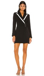 Elliatt Kenzie Blazer Dress In Black.