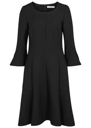 Schumacher Black Flared Hem Dress