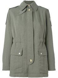 Helmut Lang Fitted Jacket Green