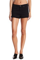7 For All Mankind Frayed Shorts Black