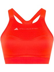 Adidas By Stella Mccartney Performance Essentials Bra Top Orange