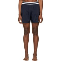 Stella Mccartney Navy Medium Length Swim Shorts