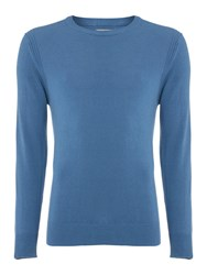 Linea Potter Crew Neck Raglan Sweat Blue