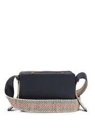 Lutz Morris Maya Leather Cross Body Bag Navy Multi