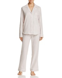 Ugg Herringbone Long Pajama Set Cream