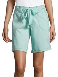 Jag Adeline Drawcord Shorts Aquatic