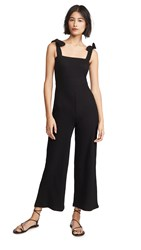 Knot Sisters Ivy Jumpsuit Washed Black