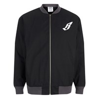 Billionaire Boys Club Men's Team Varsity Jacket Black Grey