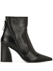 Premiata Pointed Ankle Boots Black