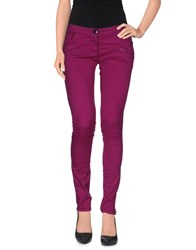 Cnc Costume National C'n'c' Costume National Trousers Casual Trousers Women Purple