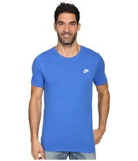 Nike Core Embroidered Futura Tee Royal Blue Royal Blue White Men's Clothing