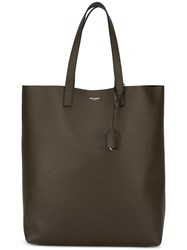 Saint Laurent Classic Shopper Tote Brown