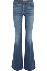 Tom Ford High Rise Flared Jeans Mid Denim