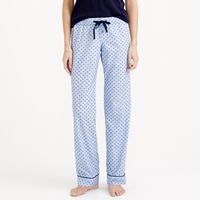 J.Crew End On End Pajama Pant In Swiss Dot