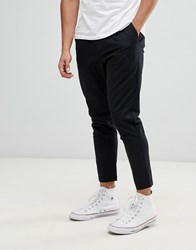 Only And Sons Cropped Chino Black