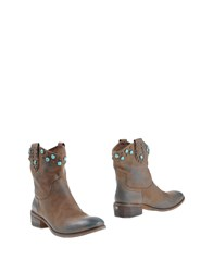 Jfk Footwear Ankle Boots Women Dove Grey