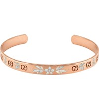 Gucci Icon Blossom 18Ct Rose Gold Bracelet