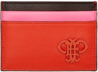Emilio Pucci Tricolor Card Holder