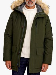 J.Crew Nor Parka Coat Dark Moss