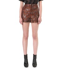 Sandro Chinagirl Short Brocade Shorts Multicolore