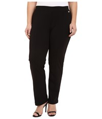 Calvin Klein Plus Plus Size Crepe Compression Straight Pants Black Women's Casual Pants
