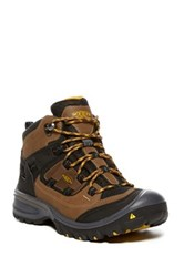 Keen Logan Mid Sneaker Waterproof Brown