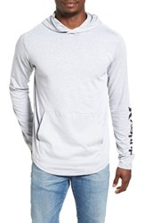 Hurley Men's Lagos 2.0 Dri Fit Hoodie Wolf Grey