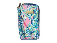 Lilly Pulitzer Tiki Palm Iphone 6 Multi Palm Reader Cell Phone Case Blue