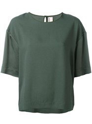 Antonio Marras Oversized T Shirt Green