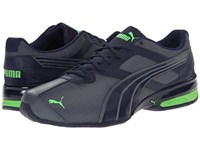 Puma Tazon 5 Ripstop Turbulence Peacoat Fluo Green Men's Shoes Black