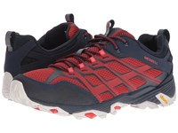Merrell Moab Fst Navy Dark Red Men's Lace Up Casual Shoes